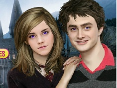 Harry and Hermione Famous Couples