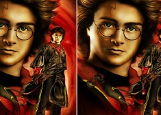 Harry Potter Find the Difference