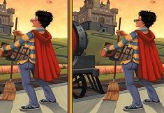 Harry Potter Spot the Differences
