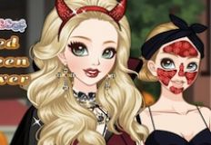 Haunted Halloween Makeover
