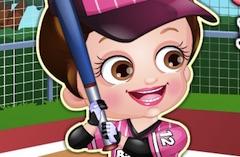 Hazel Baseball Dress Up