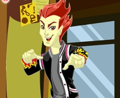 Heath Burns Monster High