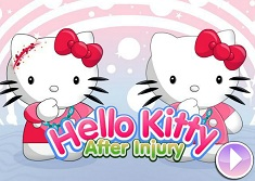 Hello Kitty After Injury