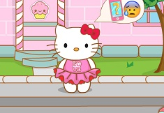 Hello Kitty and the Pink Iphone