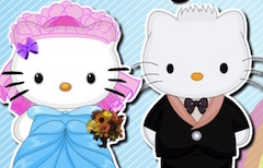 Hello Kitty Bride Hairstyle