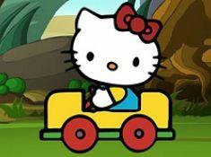 Hello Kitty Car Puzzle