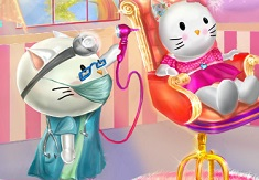 Hello Kitty Ear Doctor