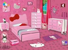 Hello Kitty Girl Bedroom