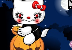Hello Kitty Halloween Makeup