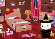 Hello Kitty Halloween Room Décor