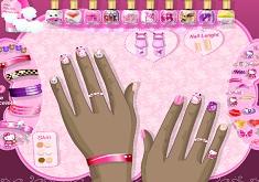 Hello Kitty Manicure