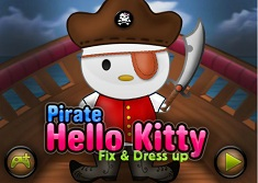 Hello Kitty Pirate