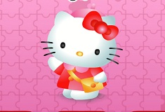 Hello Kitty Puzzle Set