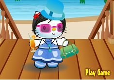 Hello Kitty Summer Dress Up