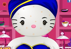 Hello Kitty Wedding Spa Makeover