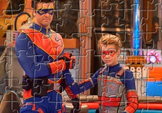 Henry Danger and Captain Man