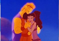 Hercules and Megara Romantic Puzzle