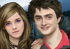 Hermione and Harry Couple