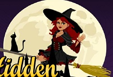 Hidden Halloween Witches