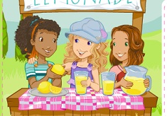 Holly Hobbie and Friends Lemonade Stand