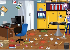 Home Office Clean Up
