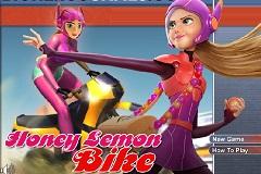 Honey Lemon Bike Race