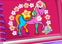 horse and unicorn coloring book - Colouring Book Games