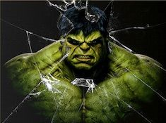 Hulk Angry Avengers Puzzle