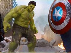 Hulk Avengers Puzzle