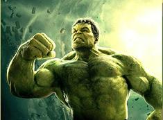 Hulk Fighting Puzzle