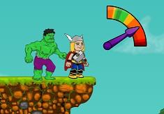 Hulk Punch Thor