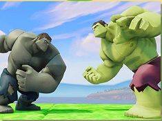 Hulks Fighting Puzzle
