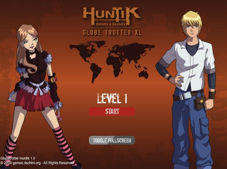 Huntik Globe Trotter