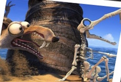 Ice Age Continental Drift Spin Puzzle