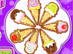 Ice Cream Cones Cookies