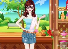 Ice Cream Girl Dress Up