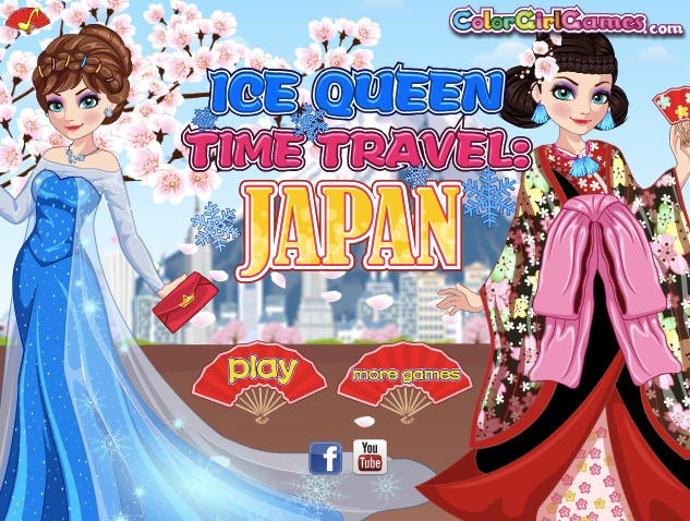 Ice Queen Travels to Japan