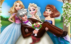 Ice Queen Wedding Photo