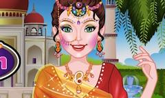 Indian Girl Salon