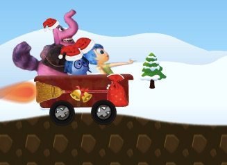 INSIDE OUT CHRISTMAS SLEDGE - INSIDE OUT GAMES