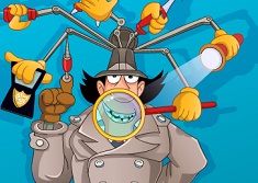 Inspector Gadget at the Dentist