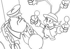 Inspector Gadget Coloring