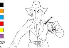 Inspector Gadget Coloring 2