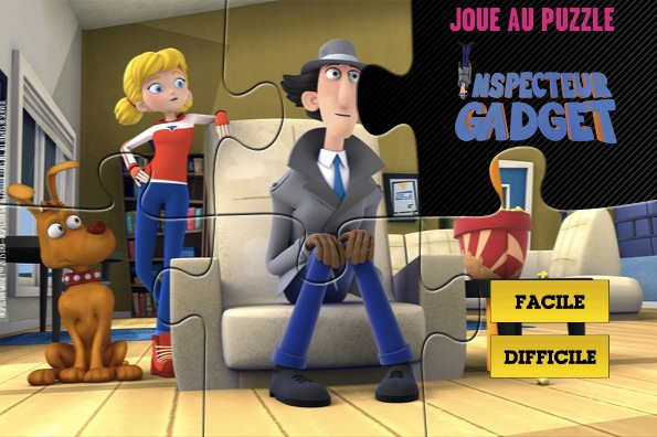 Inspector Gadget Friends Puzzle