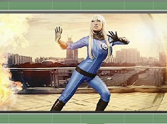 Invisible Woman Puzzle