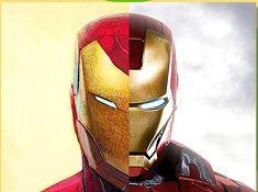 Iron Man Comic vs Movie Puzzle