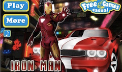 Iron Man Dodge Race