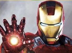 Iron Man Laser Puzzle