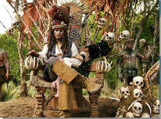 Jack Sparrow Scary Puzzle