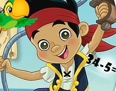 Jake and the Neverland Pirates Math Quiz